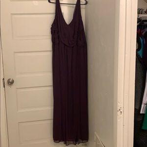 David's Bridal Bridesmaids Dress 30W